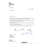 Etude IMPACT : félicitations de Sébastien LECORNU, Ministre des Outre-mer